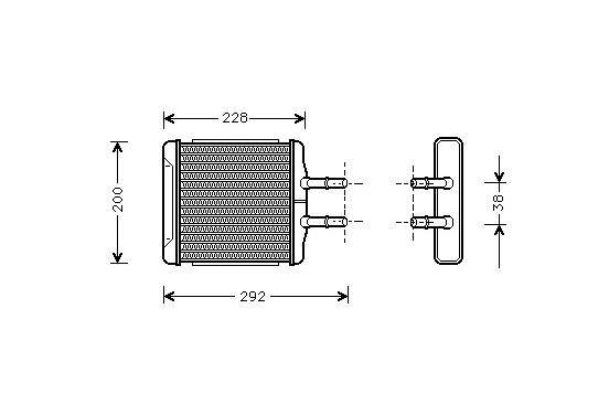 KACHELRADIATEUR ALL 81006027 International Radiators