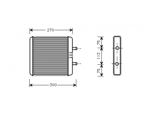KACHELRADIATEUR Daily IV 28006048 International Radiators