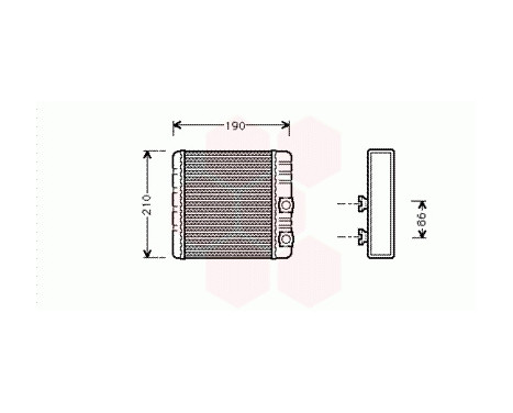 KACHELRADIATEUR met AIRCO 06006211 International Radiators, afbeelding 2