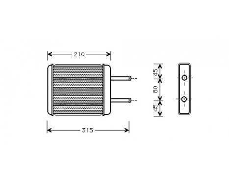 KACHELRADIATEUR  tot '01 Avant 83006007 International Radiators