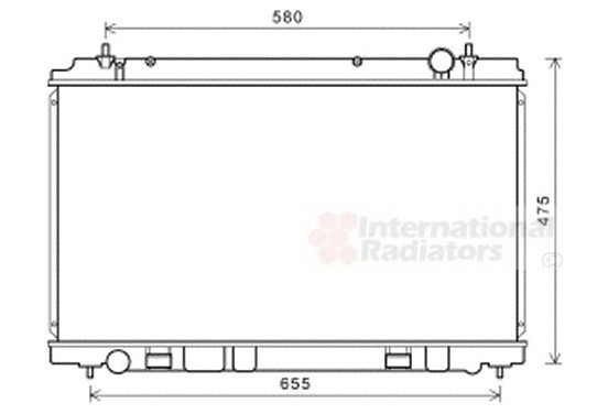 Radiateur 13002400 International Radiators