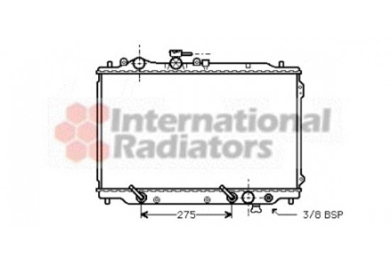 RADIATEUR 27002049 International Radiators