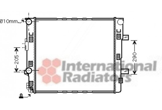 RADIATEUR 30002405 International Radiators