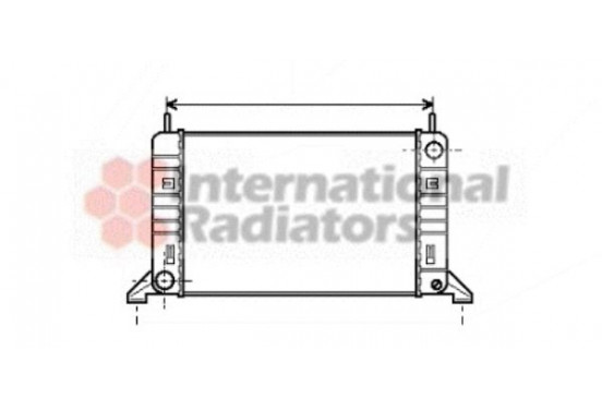 RADIATEUR 86 > 8/88  1100         A 18002077 International Radiators