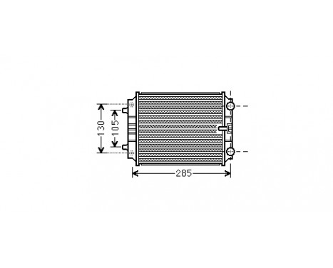 RADIATEUR A4 IV 27TDi/30TDi 07- 03002299 International Radiators