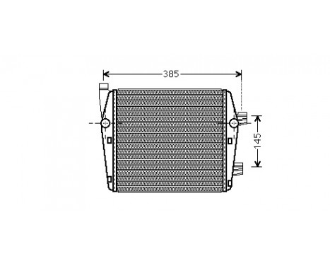 RADIATEUR BENZINE 6.0 Extra 58002290 International Radiators
