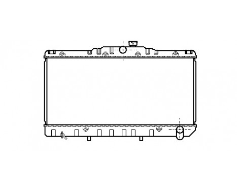 RADIATEUR CAMRY 18/20 MT 82-87 53002034 International Radiators