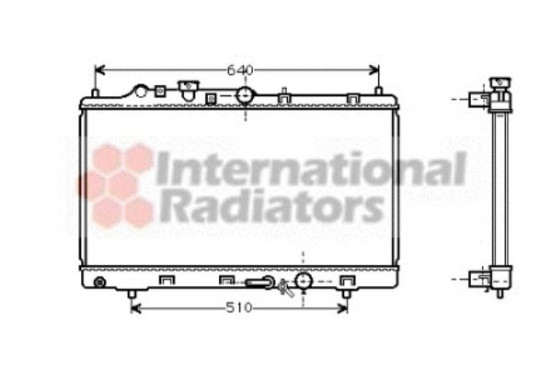 RADIATEUR DIESEL 2.0 D / 2.0 Di  AT  -00 27002154 International Radiators