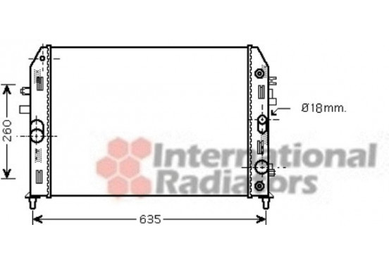 RADIATEUR MX-5 1.8/2.0 AT '05- 27002206 International Radiators