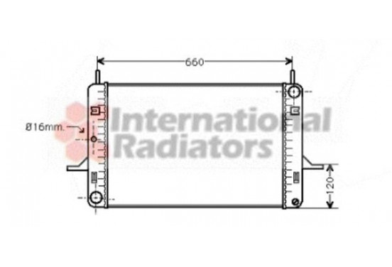 RADIATEUR RADIATEUR FORD 18002060 International Radiators