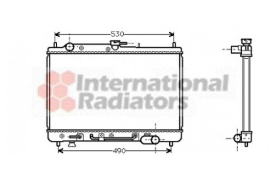 RADIATEUR RADIATEUR MAZDA 27002089 International Radiators