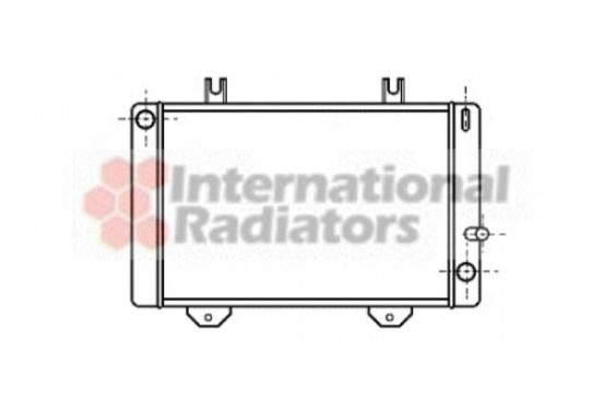 RADIATEUR TRANSIT2 24-deurs MT 78-82 18002038 International Radiators