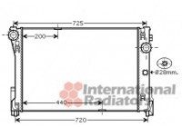 RADIATEUR MB W204 (C) ALL MT 07-