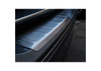 RVS Achterbumperprotector Renault Grand Scenic 2009- 'Ribs'