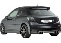 Achterskirt Peugeot 207 2006- excl. SW (ABS)