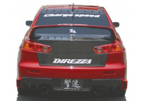 Chargespeed Achterbumperskirt (Diffuser) Mitsubishi Lancer Evo X CZ4A HalfType Carbon