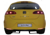 Achterbumperskirt Seat Leon 1P 2005-2009 (ABS)