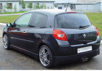Carzone Achterbumperskirt Renault Clio III 9/2005- 'Stream'