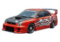 Chargespeed Breedbouwset 'Wide-Body' Subaru Impreza GD# (A/B) 'D-1 Style' + straight flap