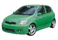 Chargespeed Sideskirts Toyota Yaris NCP10 -2006