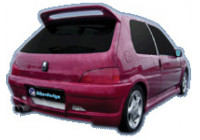 IBherdesign Spatbordverbreders 'achter' Peugeot 106 MKII 1996- 'Icon GT'