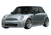 IBherdesign Voorbumper BMW New Mini Fletcher incl. gaas