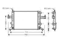 Kylare, motorkylning 37002303 International Radiators