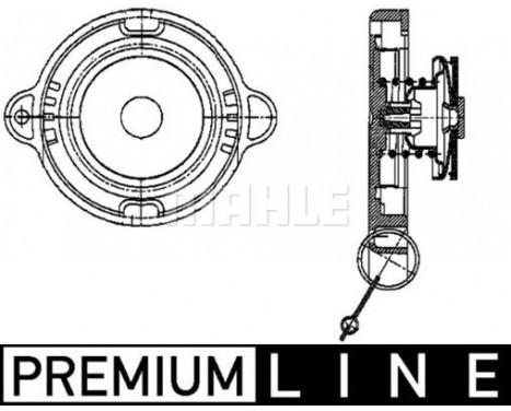 Låslock, kylare BEHR *** PREMIUM LINE ***