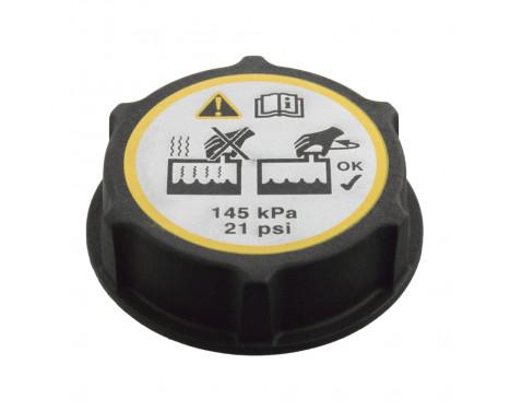 Låslock, kylvätskebehållare 105933 FEBI