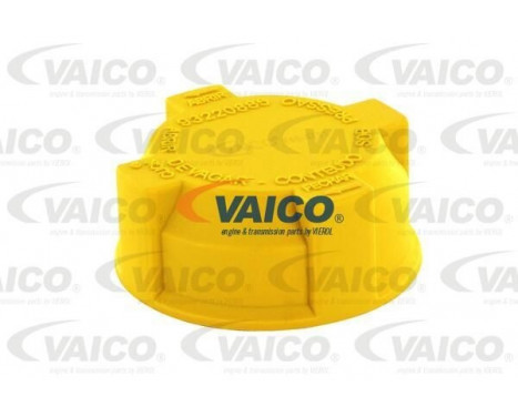 Låslock, kylvätskebehållare Original VAICO Quality
