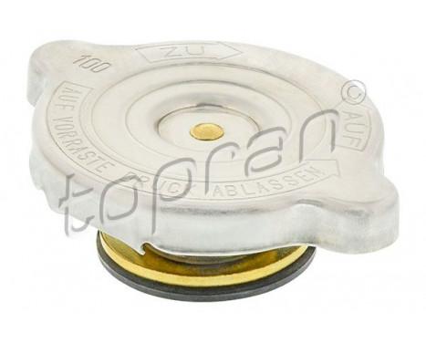 Låslock, kylvätskebehållare