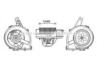 Elektrisk motor, kupéfläkt ST8044 Ava Quality Cooling