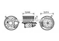Elektrisk motor, kupéfläkt VN8341 Ava Quality Cooling