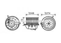 Elektrisk motor, kupéfläkt VN8342 Ava Quality Cooling