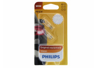 Philips 12961B2 W5W T10 highway database Premium 12V - 2 pieces