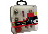Light bulb set Caravan 9-Piece