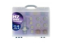 Osram spare bulb set 24V H7
