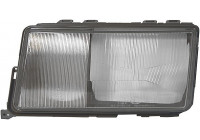 Diffusing Light glass, headlight 9AH 127 703-051 Hella