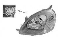 Headlight 5430961 Van Wezel