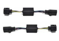 Indicator modules 'Dynamic Running Light' rear suitable for Audi A3 SEDAN / CABRIO 2016-