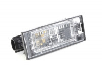 Number Plate Light 4387920 Van Wezel