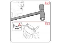 Adapter kit for Frame bike rack