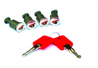 G3 roof bars locks set of 4