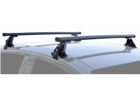 Winprice Roof carrier set steel basic Type with roof rail