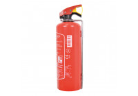 Fire extinguisher 1kg - Red - including Mount bracket