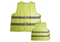 Safety vest family suit 2 adults + 2 children