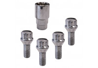 Lock bolts set conical M12x1.5 x26mm