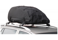 Foldable roof bag 320L Black 105x80x45cm