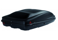 G3 roof box Spark 400 matt black metallic