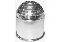 Tow Ball Cover chrome, unpacked